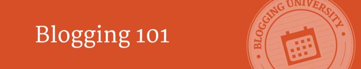 Blogging 101 Emblem