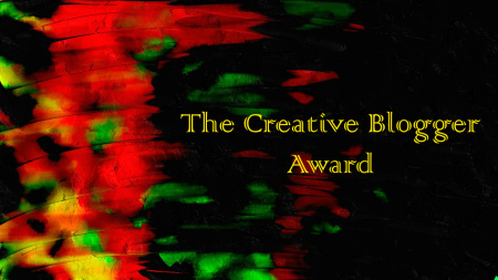 Creative Blogger Award Image