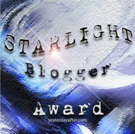 Starlight Blogger Award Image