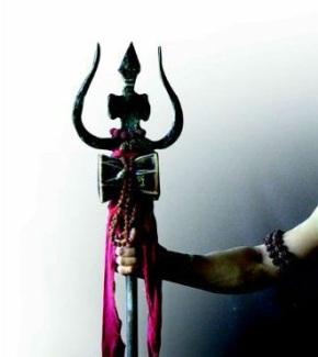 Shiva Trishul in Hand 1 - Copy