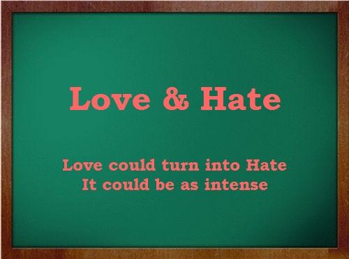 Love & Hate « theshivasponder