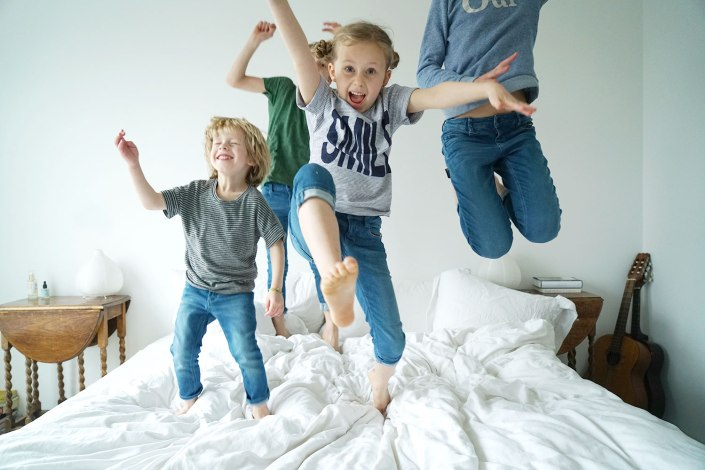 Jumping on Mattress 1