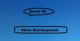 Quote By Shiva Malekopmath Image 1